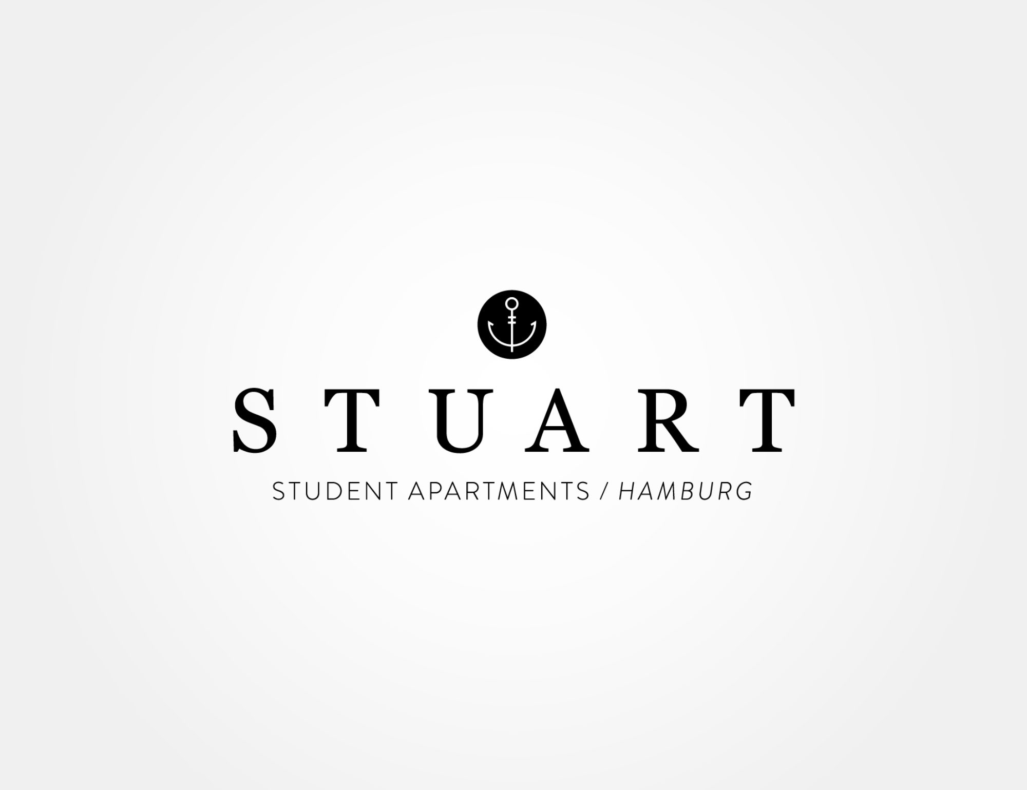 Alternate Logo for STUART, Student Apartments, Hamburg